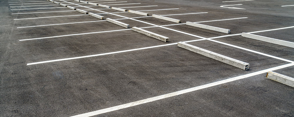 Parking Lot Striping in el paso by miranda painting
